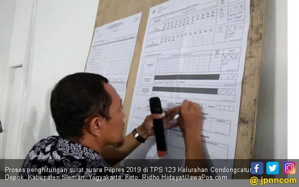 Alamak, Suara Prabowo - Sandi di TPS Amien Rais Cuma Sebegini - JPNN.com