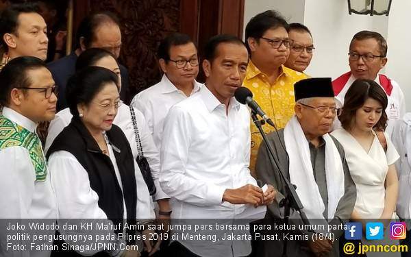 Unggul di Quick Count, Jokowi Kirim Utusan Dekati Prabowo - JPNN.com