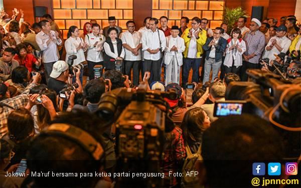 Update Real Count KPU 18 April 11.30 WIB: Jokowi 59,93 Persen, Prabowo 40,07 - JPNN.com