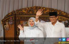 Nur Asia Uno Masuk Bursa Pilkada Tangsel, Sandiaga Khawatir - JPNN.com