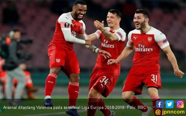 Semifinal Liga Europa: Arsenal Jumpa Valencia, Chelsea Ketemu Eintracht Frankfurt - JPNN.com