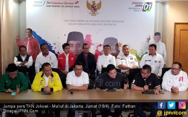 War Room TKN Jokowi Pantau Penghitungan Suara 24 Jam - JPNN.com