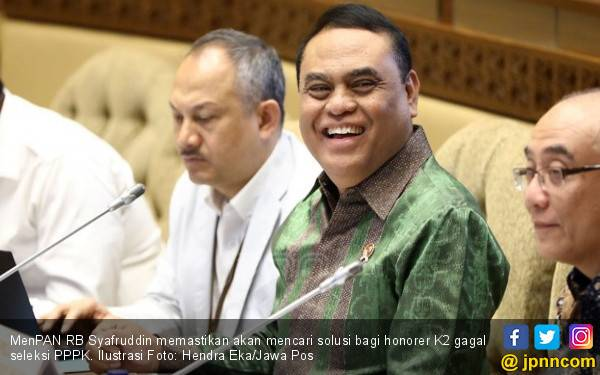 Pernyataan Terbaru Pak Menteri soal Nasib Honorer K2 Gagal Tes PPPK - JPNN.com