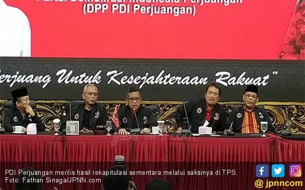 Rilis Hasil Penghitungan Suara Sementara Pilpres 2019, PDIP Tantang Kubu Prabowo - JPNN.com