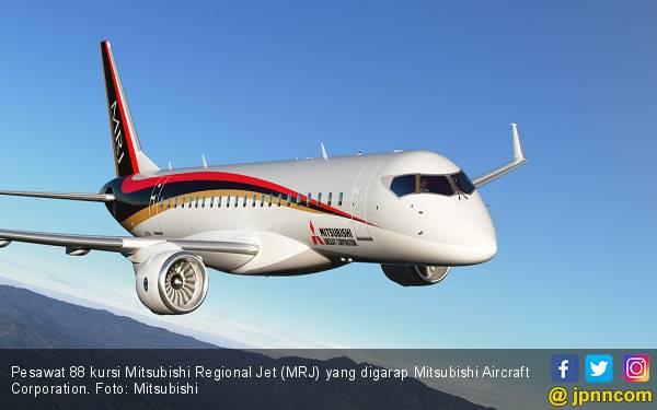 Jet Produksi Mitsubishi Segera Mengangkasa - JPNN.com