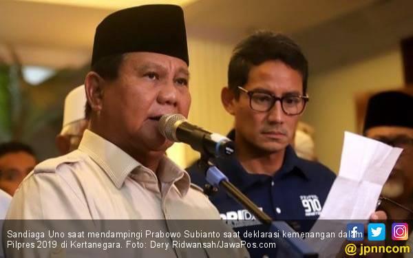 Semoga Prabowo - Sandi Segera Legawa Sampaikan Pidato Kekalahan - JPNN.com