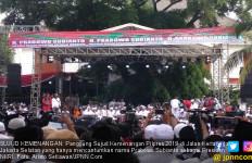 Panggung Sujud Kemenangan Prabowo di Kertanegara Tanpa Aroma Sandiaga - JPNN.com