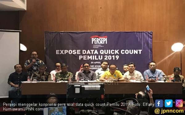 Persepi: Lembaga Survei Dilaporkan ke Bareskrim, Ya Salah Alamat! - JPNN.com