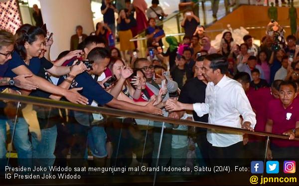 Jokowi Tepis Kabar Pengusaha Ketakutan Terjadi Kekacauan Pascapilpres - JPNN.com