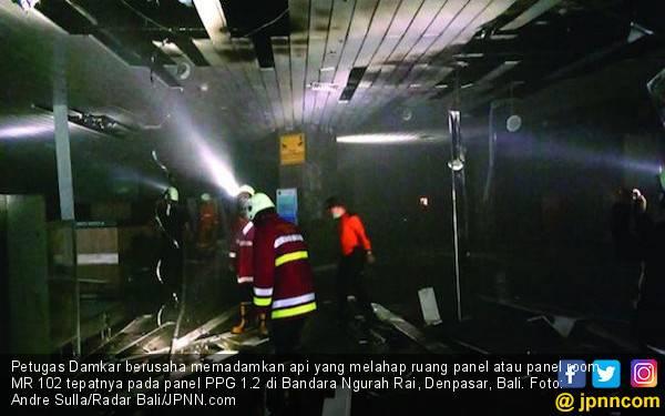 Penjelasan Kapolres Seputar Penyebab Kebakaran Bandara Ngurah Rai - JPNN.com