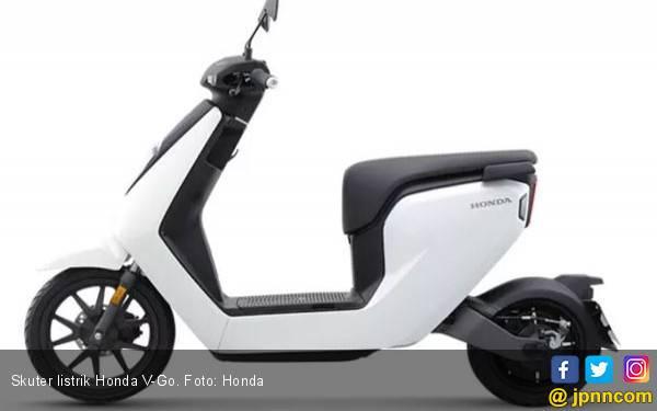 Skuter Listrik Honda Lincah di Kota, Harga Rp 16 Jutaan - JPNN.com