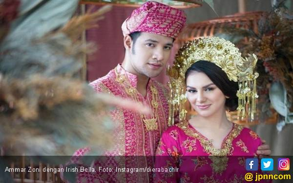 Seminggu Lagi Ammar Zoni dan Irish Bella Bakal Menikah - JPNN.com