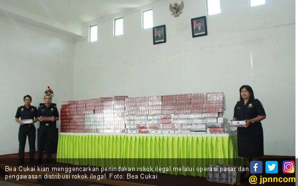 Bea Cukai Gencarkan Penindakan Rokok Ilegal di Sumatera Utara - JPNN.com