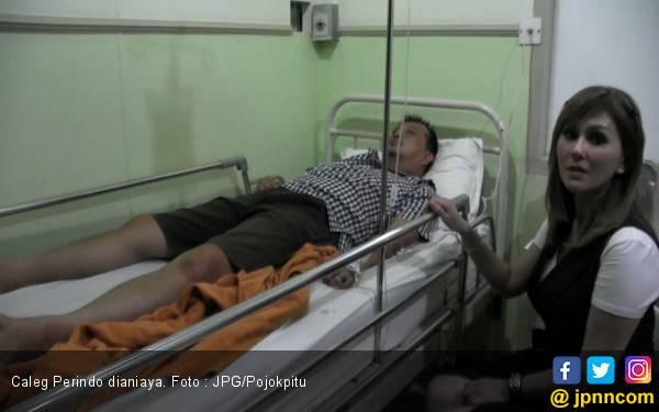 Dituding Curi Suara, Caleg Perindo Dipukul Teman Sendiri - JPNN.com