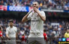 Hat-trick ke Gawang Bilbao, Karim Benzema: Silakan Kalau Madrid Masih Perlu Nomor 9 - JPNN.com