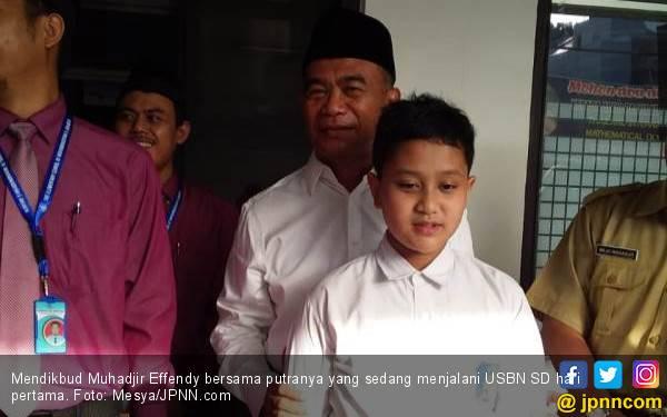 Pantau USBN SD, Mendikbud: Alhamdulillah Ada Soal HOTS - JPNN.com