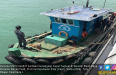 Personel KRI Krait Tangkap Kapal Tugboat di Perairan Durian, Nih Alasannya - JPNN.com