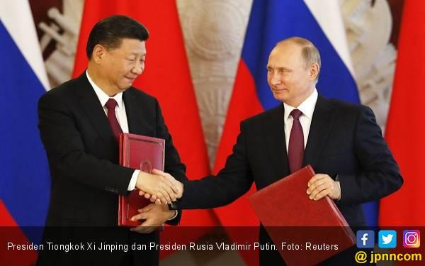 Rusia Bantu Tiongkok Bangun Sistem Pertahanan Supercanggih - JPNN.com
