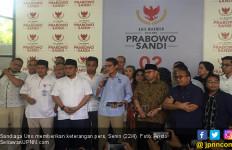 Sandiaga Uno Ajak Semua Elemen Pendukung 02 Kawal Penghitungan Suara - JPNN.com