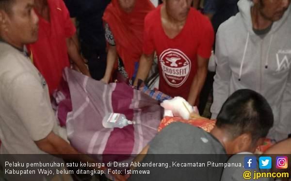 Pelaku Pembantaian Satu Keluarga Masih Berkeliaran Bawa Parang - JPNN.com