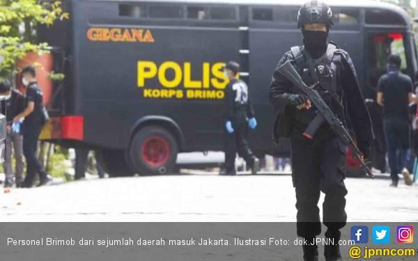 Pasukan Brimob dari 11 Daerah Dikirim ke Jakarta, Pengin Tahu Jumlahnya? - JPNN.com