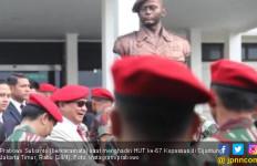 Hadiri HUT Kopassus, Prabowo Teringat saat Masih Agak Kurus - JPNN.com