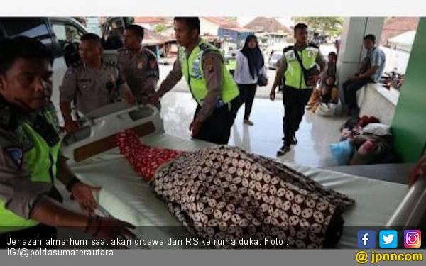 Polda Sumut Kembali Berduka, Aiptu Partahian Gugur saat Pengamanan Pemilu - JPNN.com