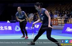 BAC 2019: Della / Rizki Tembus Semifinal, Tiang Listrik Tumbang - JPNN.com