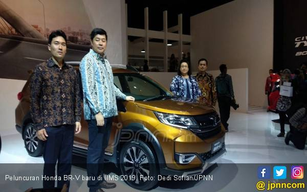 Honda BR-V Baru Hadir dengan Ubahan Ringan - JPNN.com