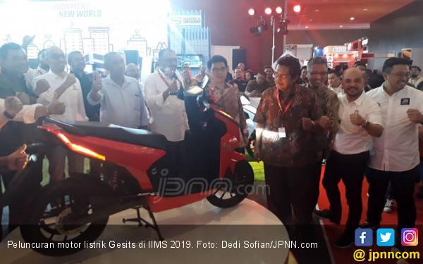 Sah! Motor Listrik Karya Anak Bangsa Gesits Berbanderol Rp 24 Jutaan - JPNN.com