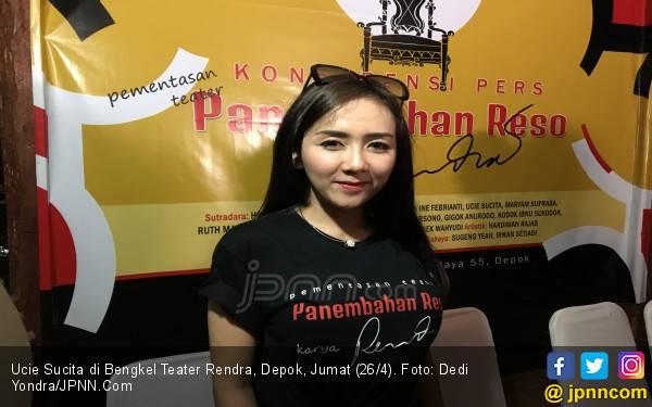 Ucie Sucita Terlibat Pementasan Teater Panembahan Reso Karya WS Rendra - JPNN.com