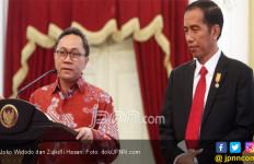 Disinggung soal Keringat, Zulkifli Hasan Pastikan Tidak akan Minta Kursi Menteri ke Jokowi - JPNN.com
