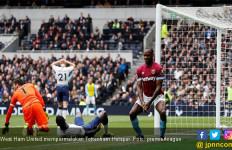 West Ham United Akhiri Rekor Apik Tottenham Hotspur - JPNN.com