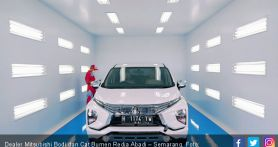 Mitsubishi Gelar Kampanye Sterilisasi Kabin Mobil, Gratis!