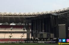 Inilah Penampakan Panggung untuk Konser Ed Sheeran di SUGBK - JPNN.com