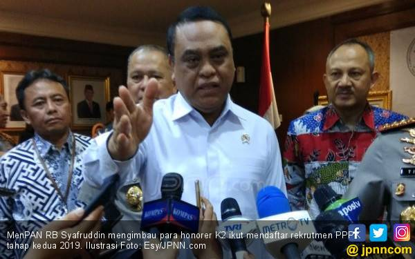 Imbauan Pak Menteri untuk Honorer K2 terkait Rekrutmen PPPK Tahap II - JPNN.com