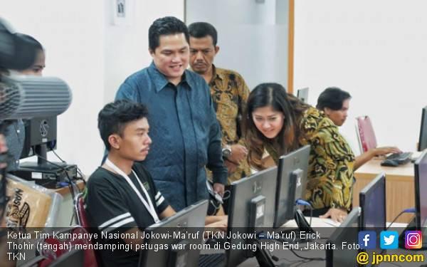 War Room TKN Jokowi – Ma'ruf Bikin Media Asing Terkesima - JPNN.com