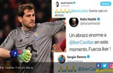 Doa Lionel Messi Untuk Iker Casillas - JPNN.com