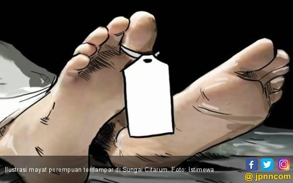 Mayat Wanita tak Dikenal Ditemukan di bantaran Sungai Citarum - JPNN.com