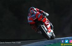 Sempat Ada Bendera Merah, Petrucci Pimpin FP2 MotoGP Spanyol - JPNN.com