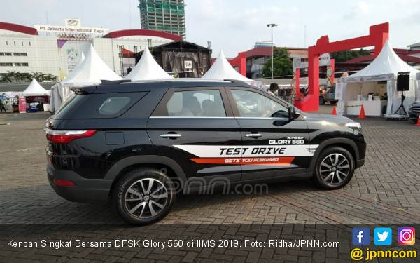 Kencan Singkat Bersama DFSK Glory 560 di IIMS 2019, Kamu Kapan? - JPNN.com