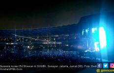 Sapa Penggemar di SUGBK, Ed Sheeran Ucapkan Halo Jakarta dan Minta Maaf - JPNN.com