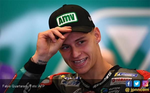 Rekor Baru MotoGP: Fabio Quartararo jadi Pembalap Termuda Raih Pole Position - JPNN.com