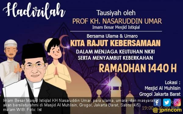 Kapolres Jakbar Ajak Masyarakat Ikut Silaturahmi dengan Imam Besar Istiqlal Malam Ini - JPNN.com