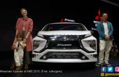 Mitsubishi Xpander Mengerek Penjualan MMKSI Selama IIMS 2019 - JPNN.com