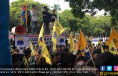 PMII DKI Jakarta Gelar Aksi di Kantor KPU dan Bawaslu, Nih Aspirasinya - JPNN.com