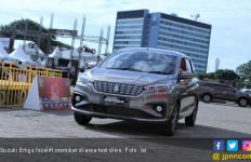 Daya Magnet Suzuki Ertiga Facelift di Area Test Drive IIMS 2019 - JPNN.com