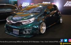Berbekal Racikan Bordir dan Warna, Honda Brio Sabet Juara MBtech Awards 2019 - JPNN.com