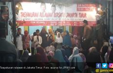Tasyakuran Bareng Pendukung Jokowi-Prabowo, Warga Klender: Elite Politik juga Harus Rukun - JPNN.com
