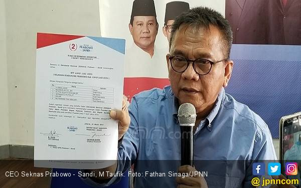 Polisi Sita Ribuan Formulir C1 dari Boyolali, Taufik Gerindra Merasa Digembosi - JPNN.com